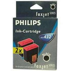 Philips PFA432 (Svart) 2-pack