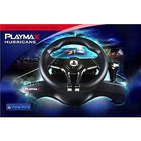 Playmax Hurricane Steering Wheel (PS4/PS3)