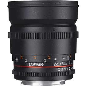 Samyang 16/2.2 ED AS UMC CS II VDSLR for Sony A