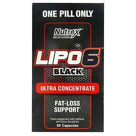 Nutrex Research Lipo-6 Black 60 Kapslar