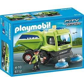 Playmobil City Action 6112 Agent avec balayeuse de voirie