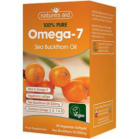 Natures Aid Omega-7 Sea Buckthorn Oil 500mg 90 Capsules
