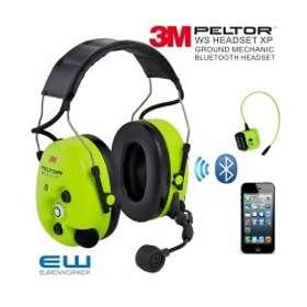3M Peltor Ground Mechanic WS ProTac XP Wireless Headset Headband