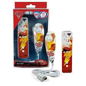 Indeca Wii Remote + Nunchuk - Disney Cars Edition (Wii)