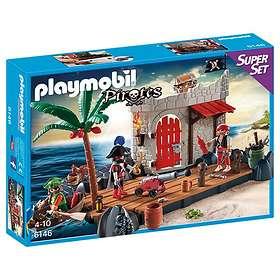 Playmobil Pirates 6146 SuperSet Ilôt des pirates