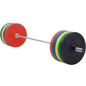 Master Fitness Skivstångsset Crossfit 170kg