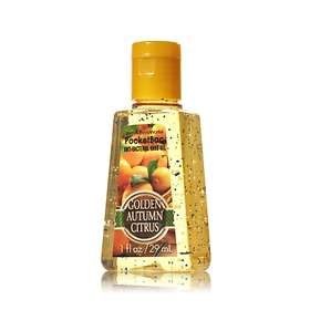 Bath & Body Works Golden Autumn Citrus Pocketbac Sanitizing Hand Gel 29ml