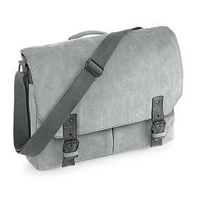 22a2d9a140 Find the best price on Quadra Vintage Canvas Satchel Messenger Bag (QD625)