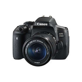 Canon EOS 750D + 18-55/3,5-5,6 IS STM