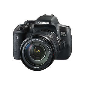 Canon EOS 750D + 18-135/3,5-5,6 IS STM