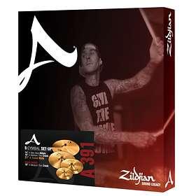 Zildjian A 391 Box Set (14/16/21 + 18 Crash)