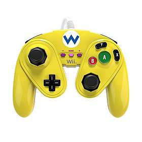 PDP Wii U Fight Pad Controller - Wario Edition (Wii U)