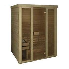 Sauna Sweden Classic Glas 1500x1200
