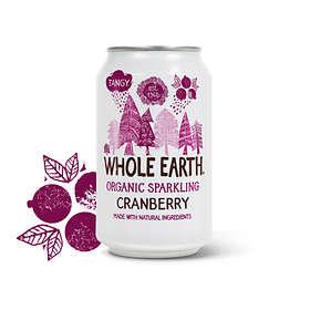 Whole Earth Sparkling Cranberry Burk 0,33l