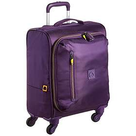 f25b9c254 Find the best price on Delsey Solution 4-Wheel Cabin Trolley Case ...