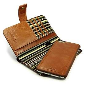 Alston Craig Vintage Genuine Leather Wallet Case for iPhone 6 Plus