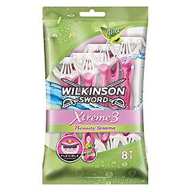 Wilkinson Sword Xtreme 3 Beauty Sensitive Disposable 8-pack