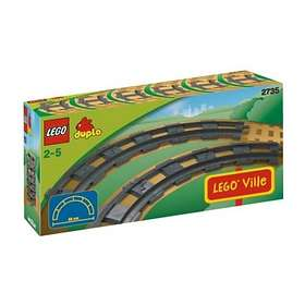 LEGO Duplo 2735 6 rails courbes