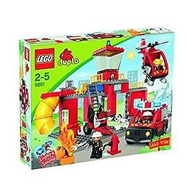 LEGO Duplo 5601 La caserne des pompiers
