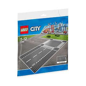 LEGO City 7280 Rett Veibane Plater og Kryss
