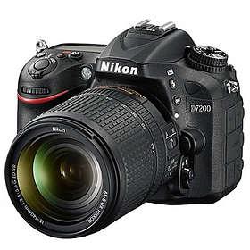 Nikon D7200 + 18-140/3.5-5.6 VR