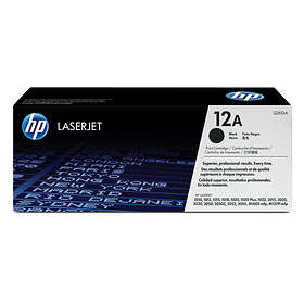 HP 12A (Svart)