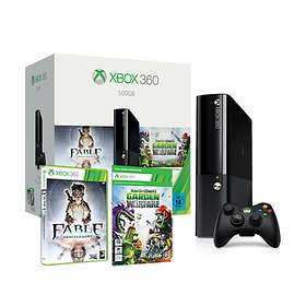 Microsoft Xbox 360 E 500GB (ml. Fable: Anniversary + PvZ: Garden Warfare)