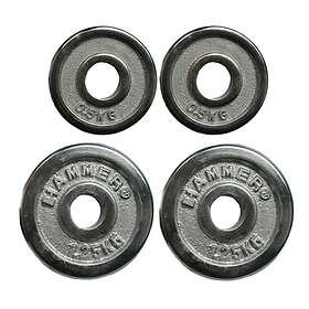 Hammer Sport Chrome Weight Plates Set 3kg
