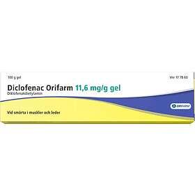 Orifarm Diklofenak Gel 11,6mg/g 100g