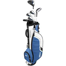 Wilson Deep Red Junior (9-12 Yrs) with Carry Stand Bag