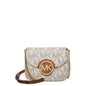 c4bae0420ee9 Find the best price on Michael Kors Fulton Logo Small Crossbody Bag ...