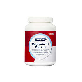 Nycomed Nycoplus Magnesium + Calcium 100 Tabletter
