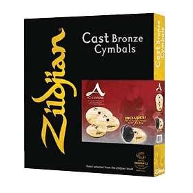 Zildjian A Custom Box Set (14/16/20 + 18 Crash)