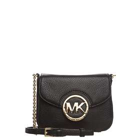 5e962444ad5f Find the best price on Michael Kors Fulton Leather Small Crossbody ...