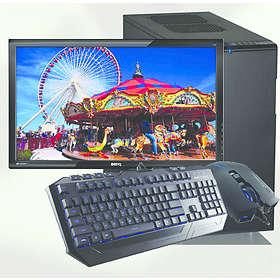 "Dataporten Gamer Supreme - 3,4GHz QC 8GB 2,13TB DVD±RW 24"""
