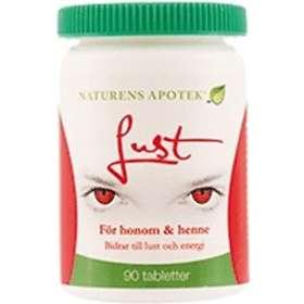 Naturens Apotek L-Arginin Lust 90 Tabletter