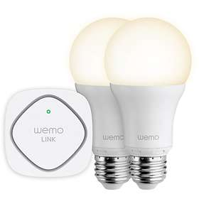 Belkin WeMo LED Lighting Starter Set E27 10W 2-pack (Kan dimmes)