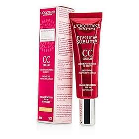 L'Occitane Pivoine Sublime CC Skin Tone Perfecting Cream SPF20 30ml
