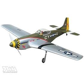 The World Models P-51 Mustang EP ARF
