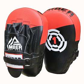 Amber Fight Gear Boxing Focus Mitts