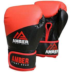 Amber Fight Gear Hook and Loop Boxing Gloves