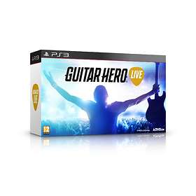 Guitar Hero Live (inkl. Gitarr) (PS3)