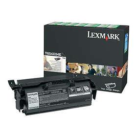 Lexmark 0T654X04E (Svart)