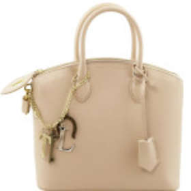 Tuscany Leather TL Keyluck Small Tote Bag (TL141265)