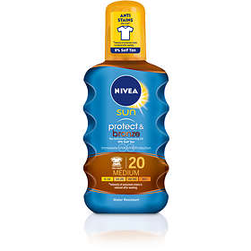 Nivea Sun Protect & Bronze Tan Activating Protecting Oil SPF20 200ml