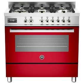 Bertazzoni Professional Series PRO90 6 MFE S RO T (Röd)