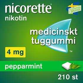 McNeil Nicorette Fruktmint Tyggegummi 4mg 210stk