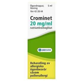 Orifarm Crominet Ögondroppar Lösning 20mg/Ml 5ml