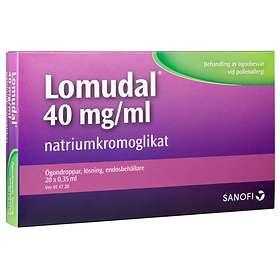 Sanofi-Aventis Lomudal Ögondroppar 40mg/ml 7ml 20 Doser