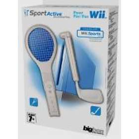 Bigben Interactive Tennis Racket & Golf Club (Wii)